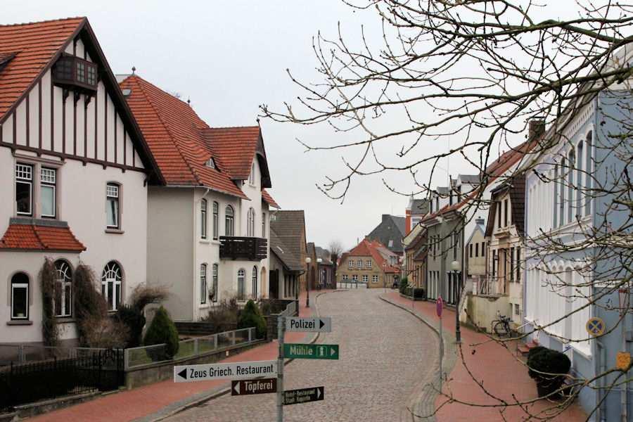 Obere Schmiedestraße - Foto: Eckhard Schmidt - Kappeln - © 2012
